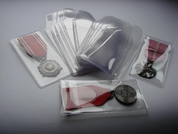 Vrecká pre super cená odznaky !!! 10 kusov