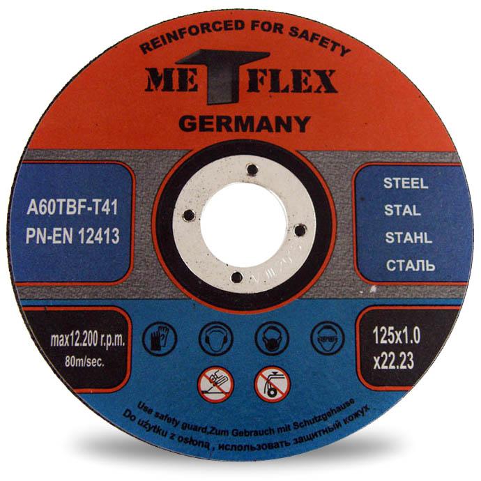 TARCZA CIĘCIA METALU inox 125 x 1,0 x 22,2 MASTIFF
