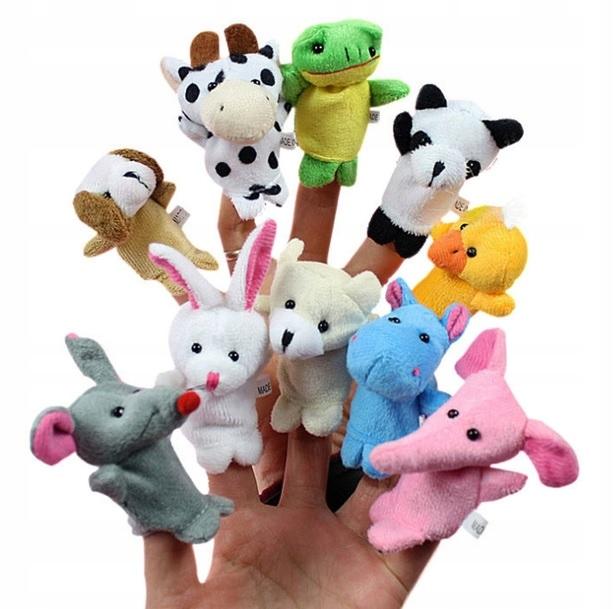 Mascots bábkové bábky bábky Zvieratá