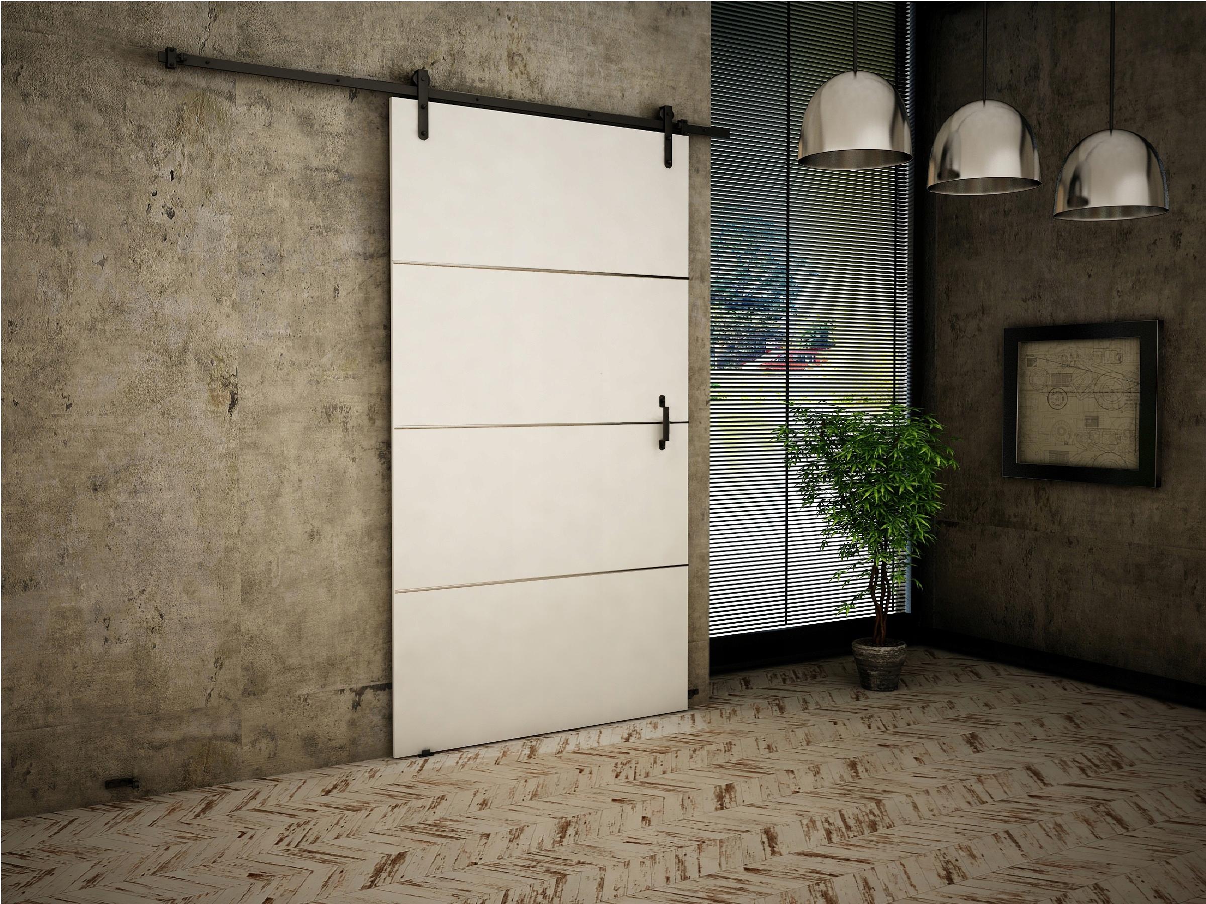Dvere v starom štýle + 100 White v Retro štýle