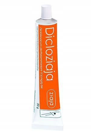 Купить Dicloziaja Diclofenacum 100 грамм боль p/zapalnie на Otpravka - цены и фото - доставка из Польши и стран Европы в Украину.