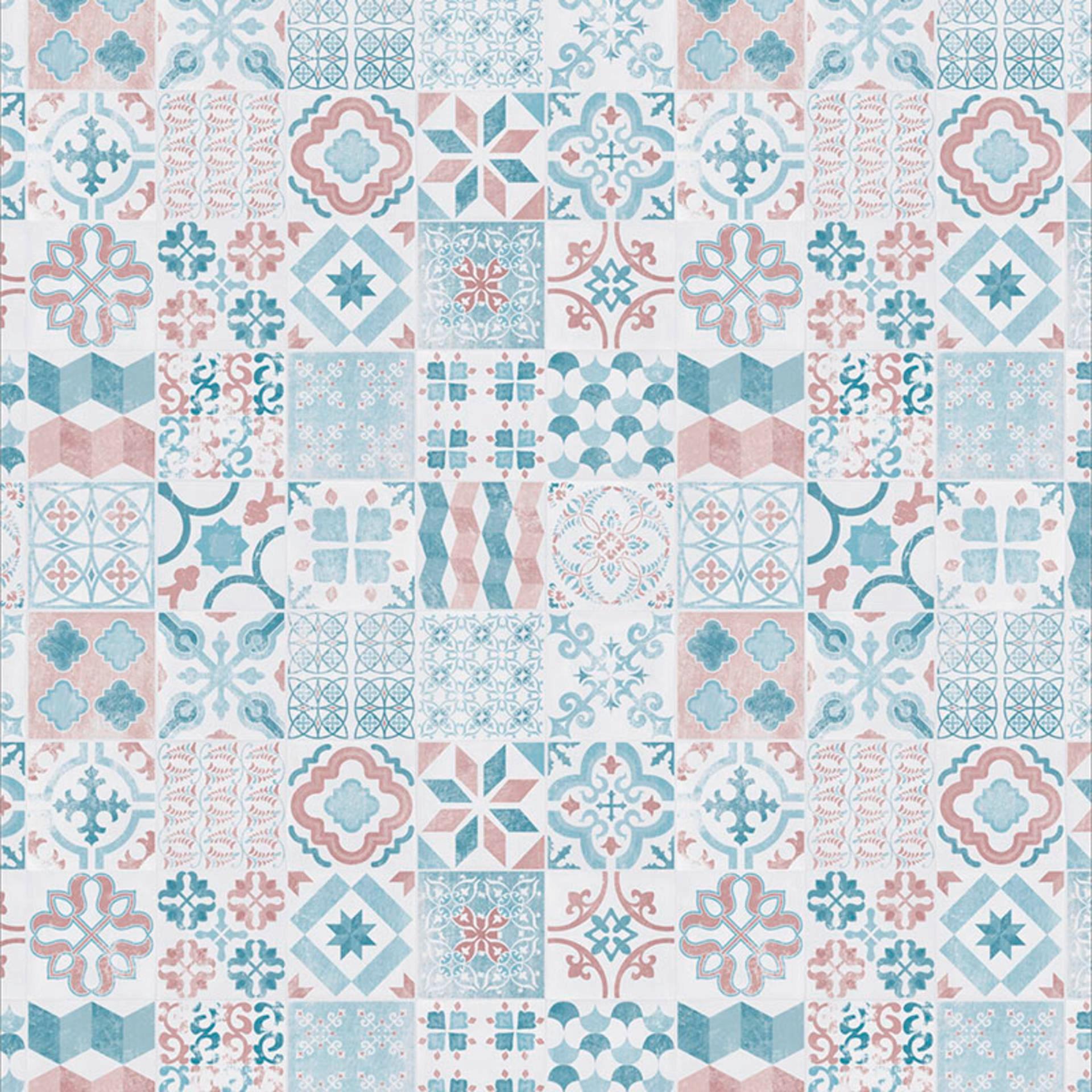 Podlahová dlaždica z PVC | Almeria Pastel RETRO 150x200