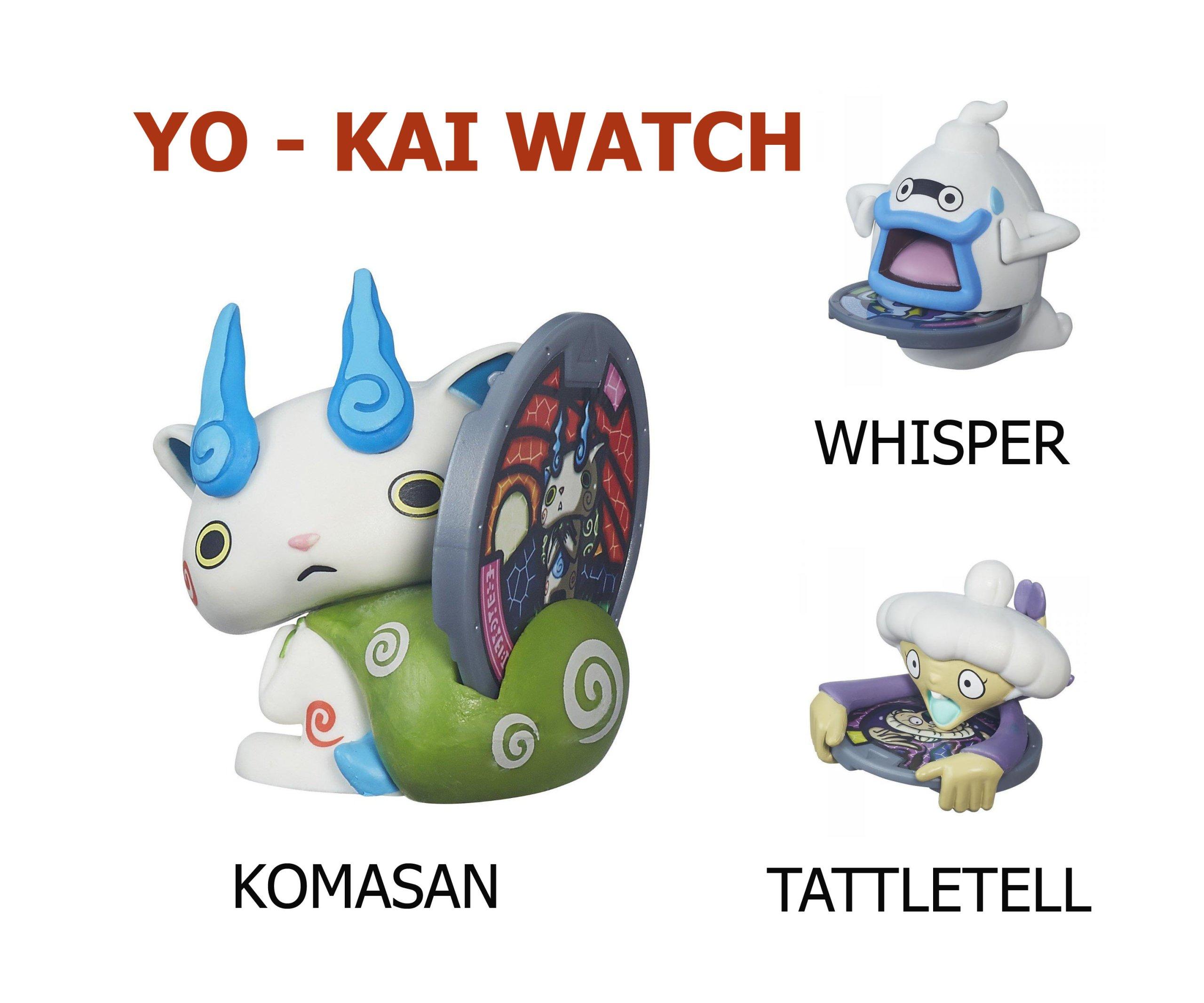 HASBRO KOMASAN WHISPER TATTLETELL YO-KAI_3 kusov