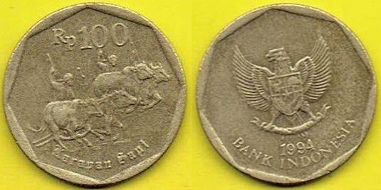 INDONEZJA 100 Rupiah 1994 r.