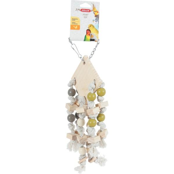 Zolux Zabawka dla Papug 6 sznurków 134024