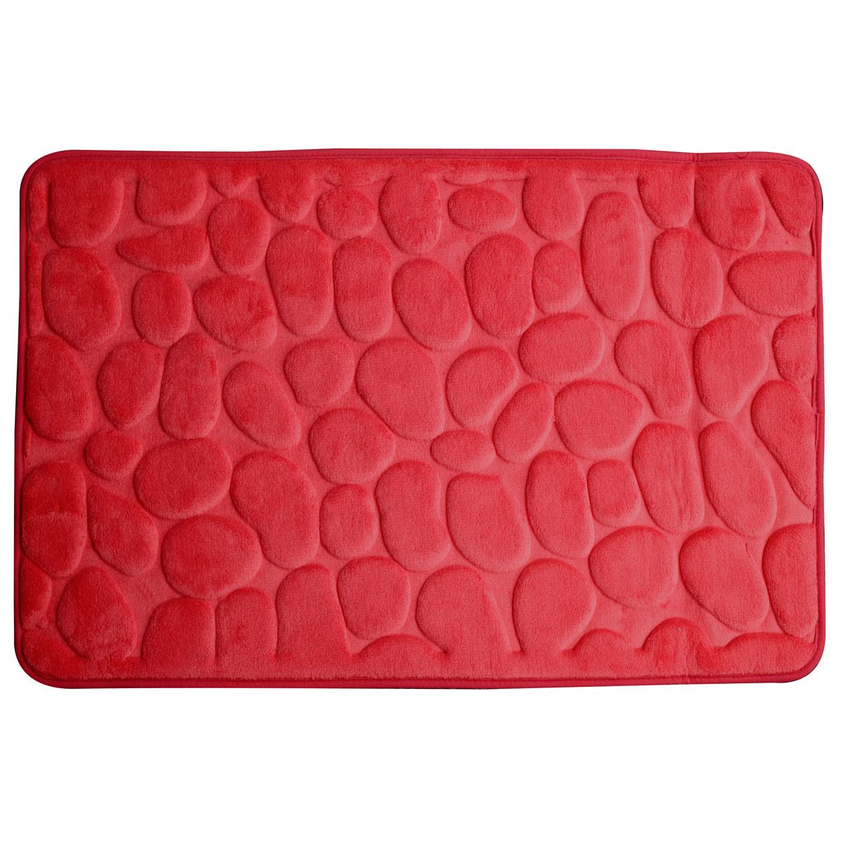 Super mäkká kúpeľňa koberec 60x95 3D červená