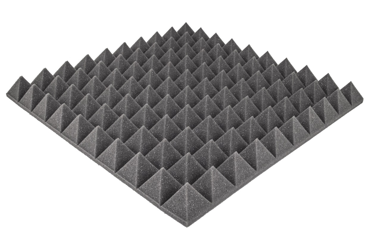 Item FOAM MAT ACOUSTIC PIRAMIDKA PANEL 50x50x5cm