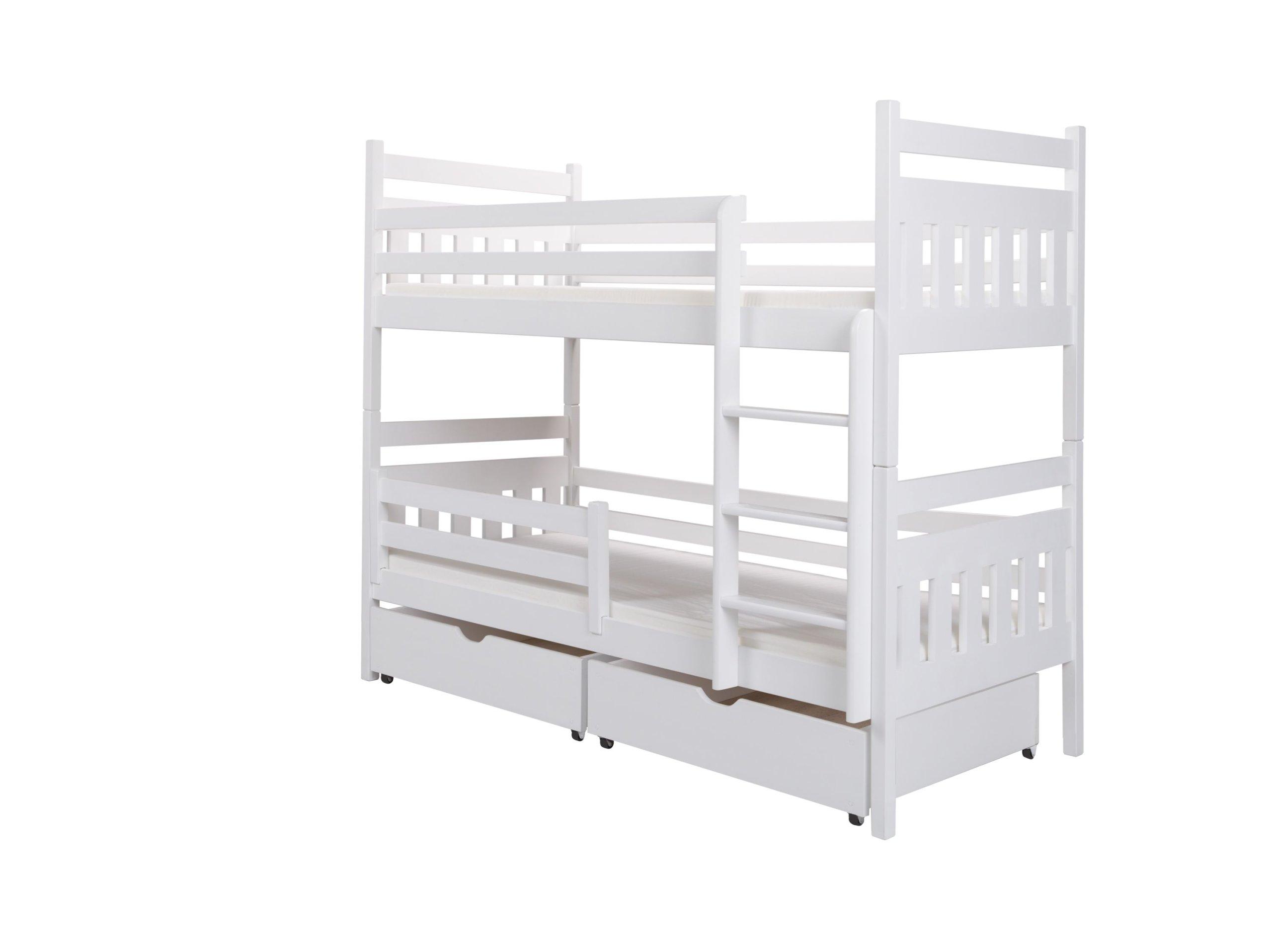 łóżko Piętrowe 2 Osobowe Filip 90x190 Materace