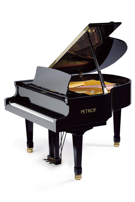 Piano Petrof P 159 BORA - čierny lesk