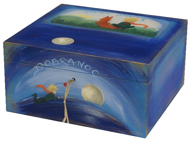 BOX Box je maľované na tlačidlo MALÝ PRINC