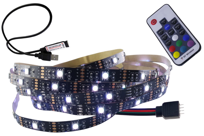 RGB 5V USB LED páska SET 3M TV Podsvietenie