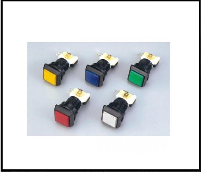 Dokončiť tlačidlo s žiarovkou pre automatické stroje!