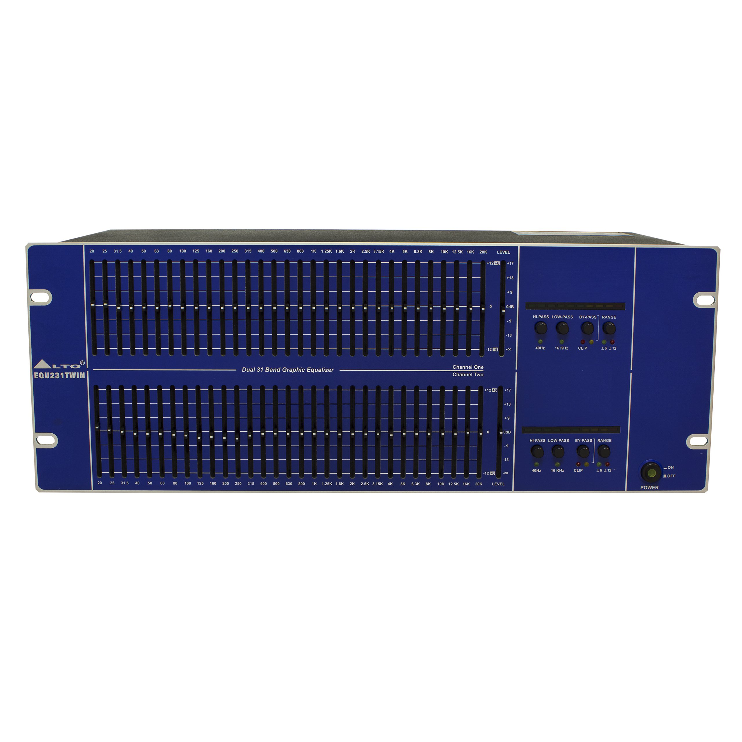 ALTO EQUIST 231 TWIN GRAPHIC EQUALIZER 31 ROZSAH