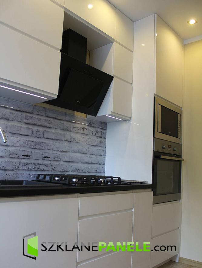 Szkło Do Kuchni Imitacja Cegieł Cegła Kamień