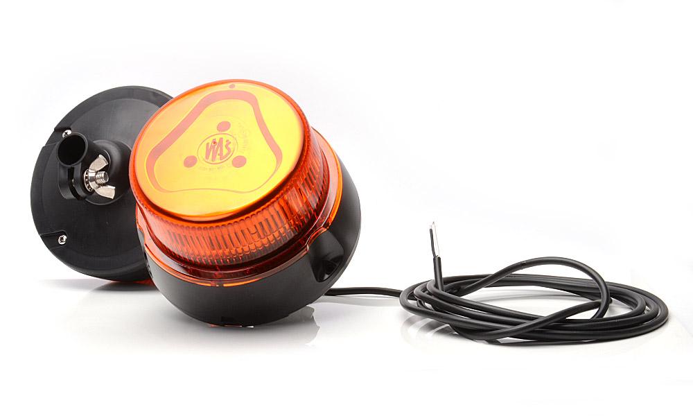 LED Kogut Lampa Ostrzegawcza Błysk Żółty WAS 852.6