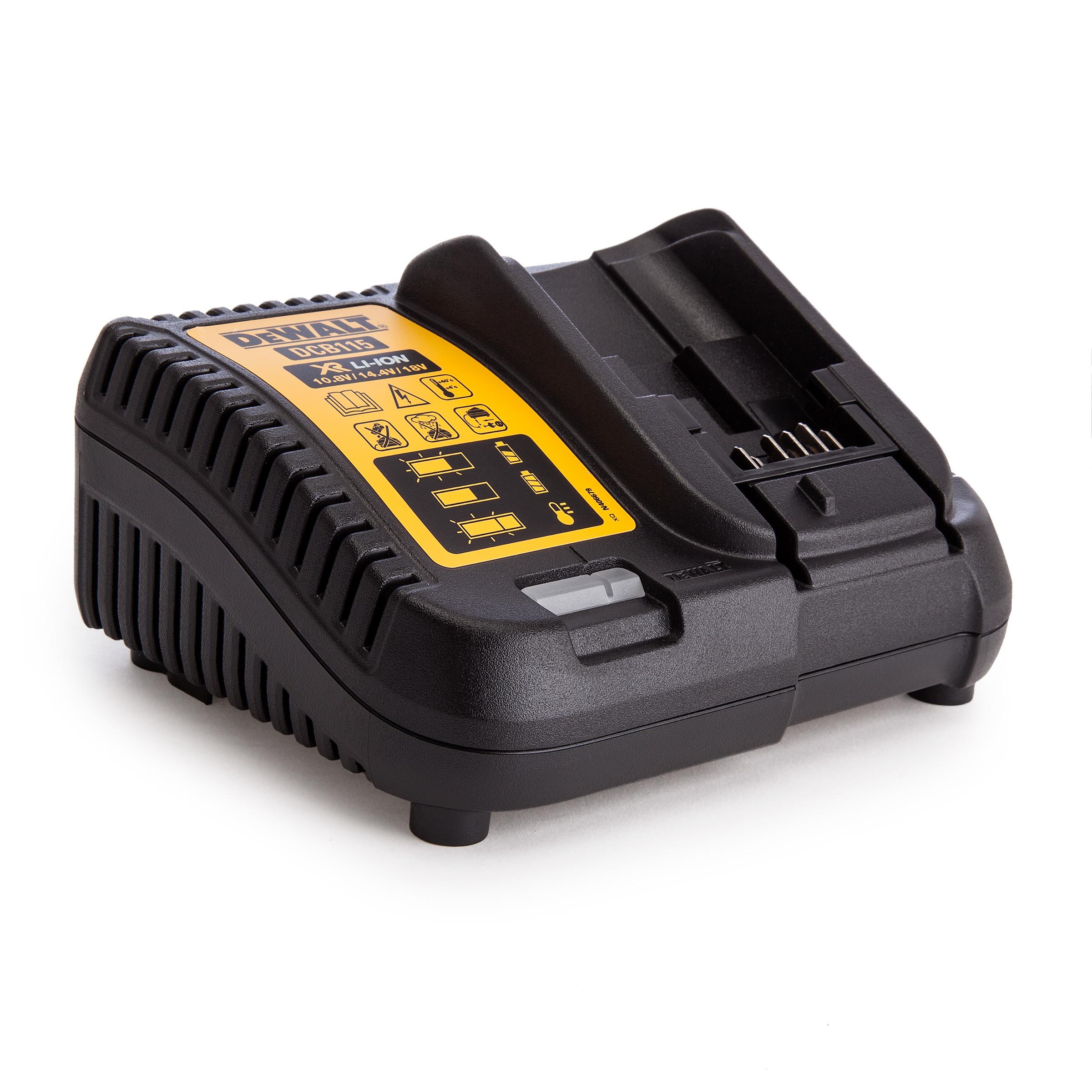 Nabíjačka pre nabíjatelné batérie, batérie DEWALT 18V a 10,8 V