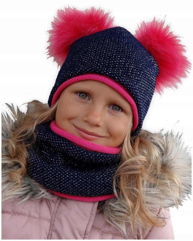 KLOBÚK+KOMÍN N16 Teplé sada zimných 50-55