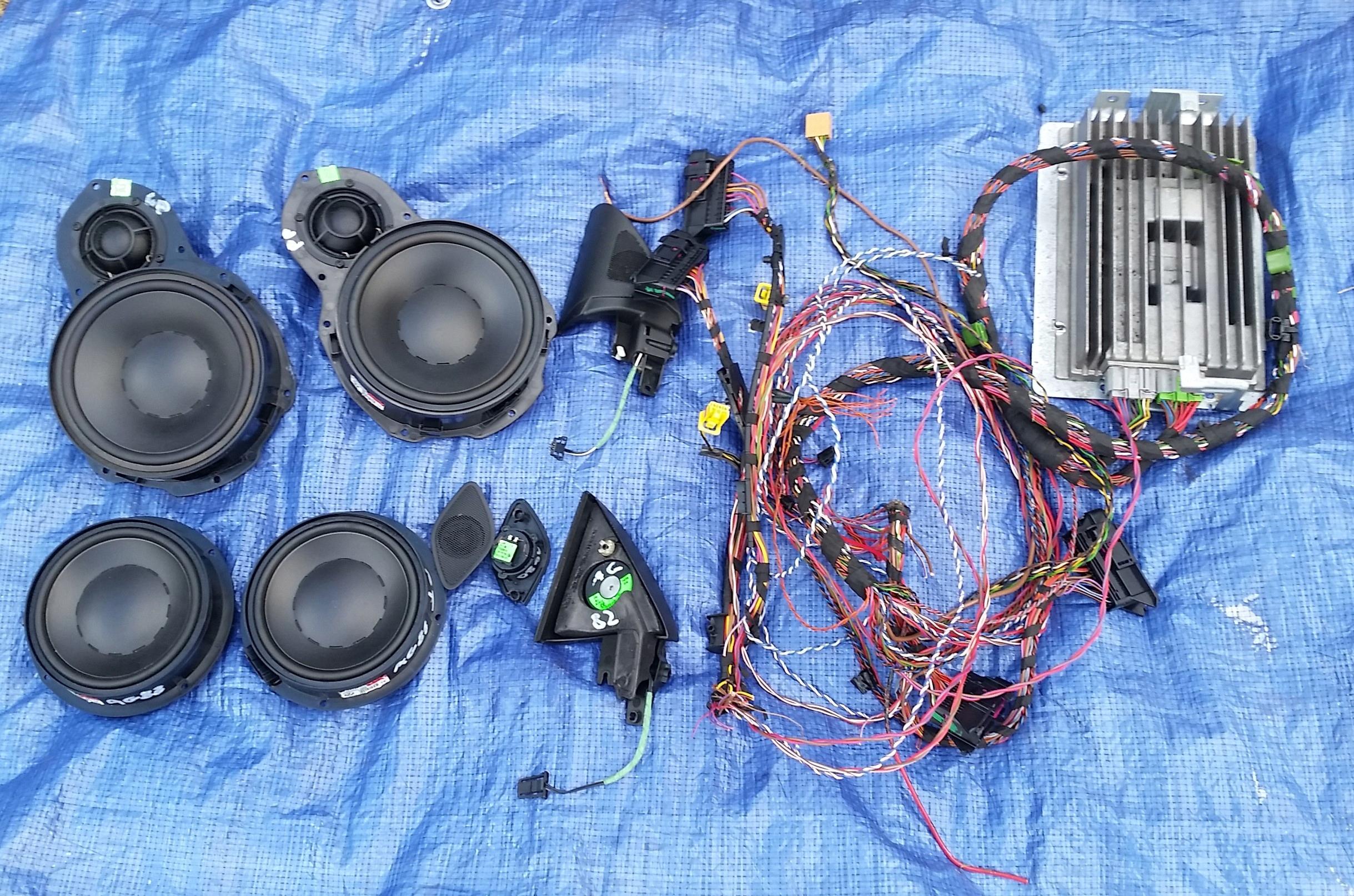 комплект звуковая система dynaudio vw passat b6 b7 cc