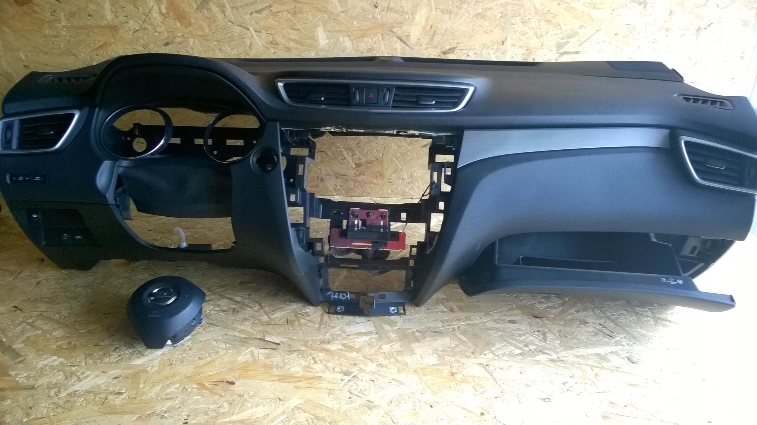 nissan qashqai j11 lift 17 доска консоль airbag fv