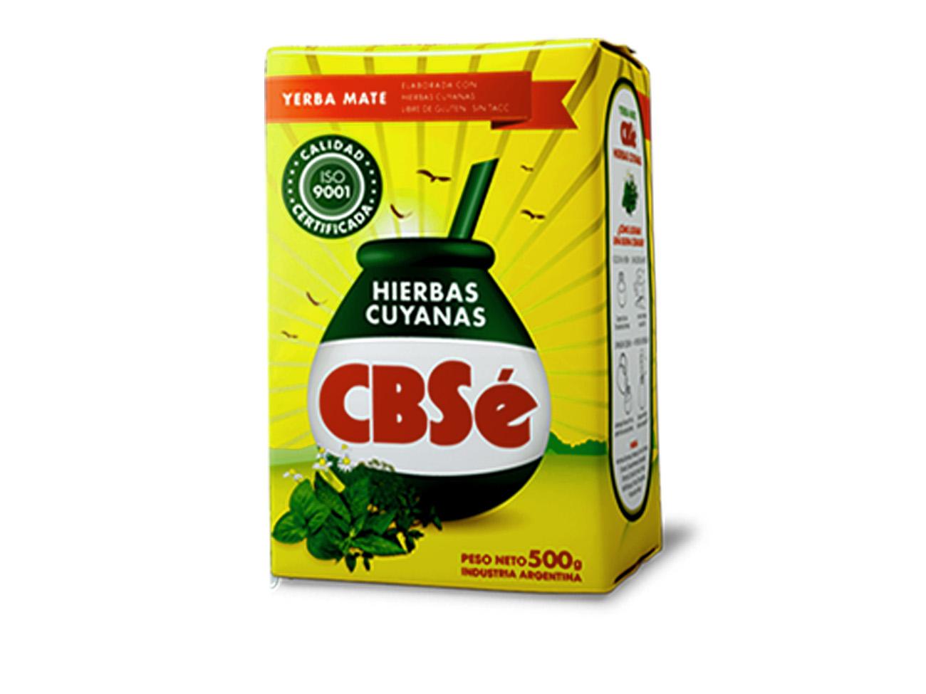 Купить Yerba Мате CBSE HIERBAS CUYANAS 500g, травяной на Otpravka - цены и фото - доставка из Польши и стран Европы в Украину.