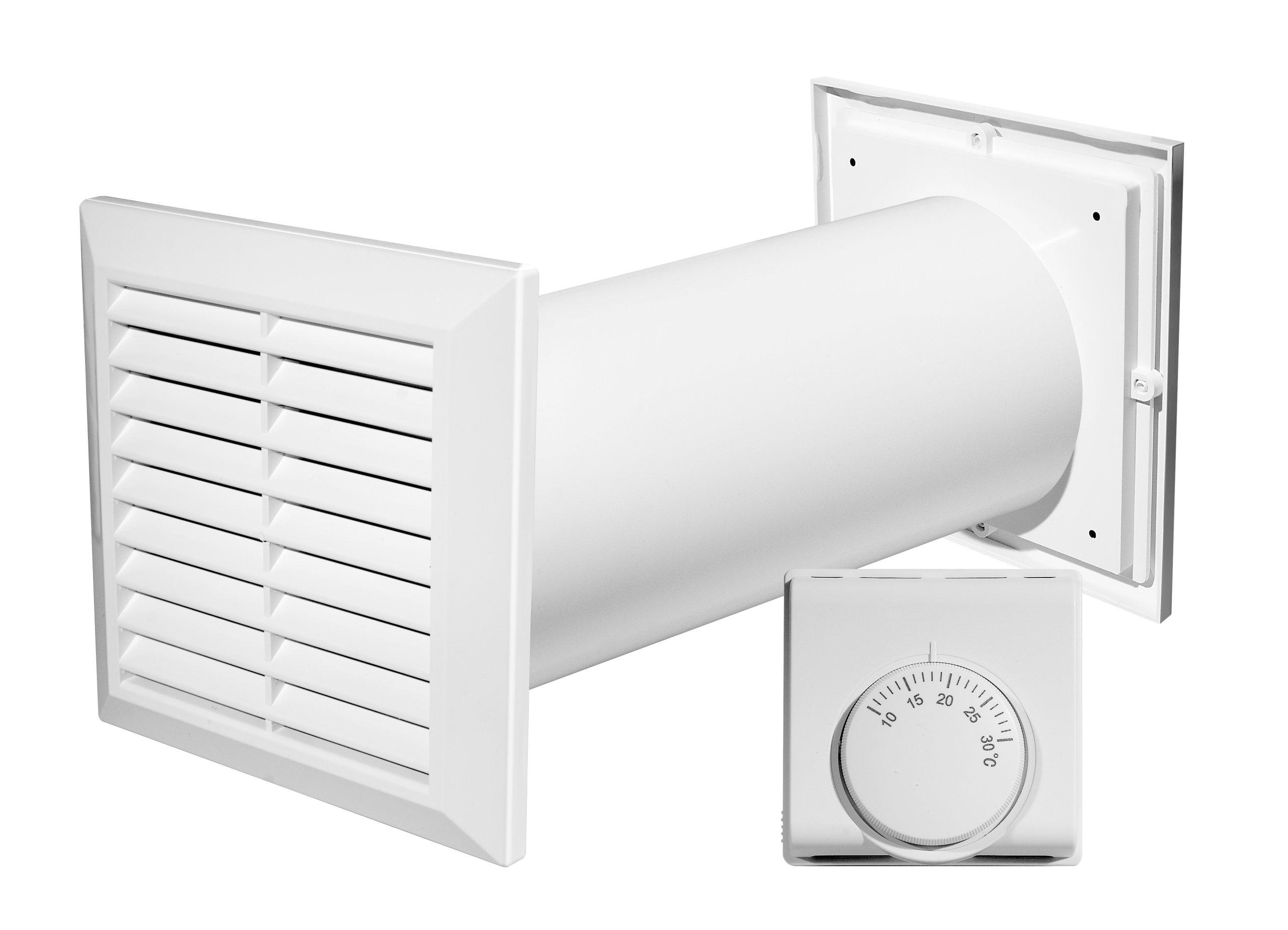 Awenta Ventilátor Výmenník tepla Termostat CM100