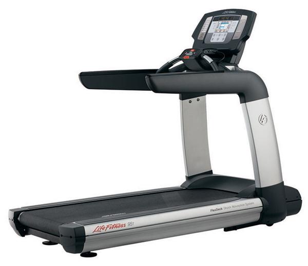 Life Fitness 95T Inspire Breadmill, záruka.