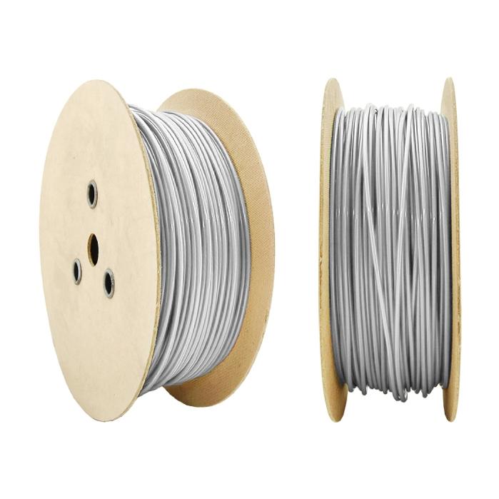 Lanová nerezová oceľ PVC kábel V4 3/4 mm 1m