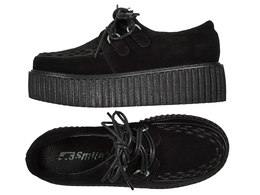SMITHS BUTY DAMSKIE CREEPERS (WHITE)