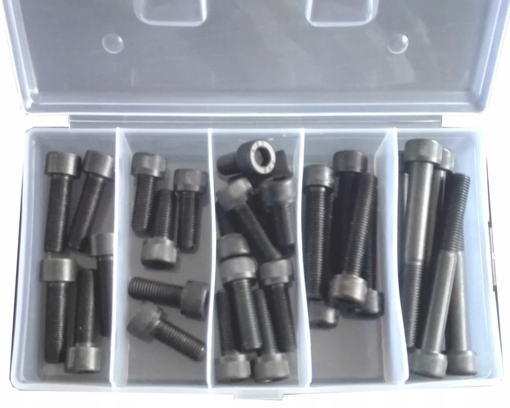 Болты шестигранные m12x1 25 kl 12 9 комплект 25 шт
