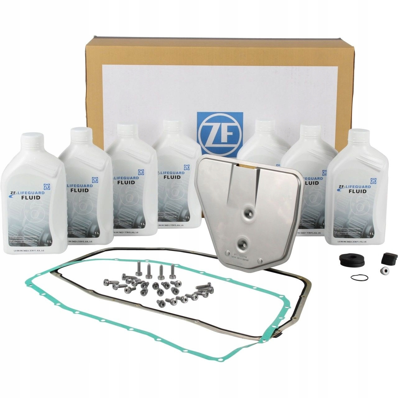 фильтр коробки автомат +olej 7l 6hp26 audi s6 c6 a8