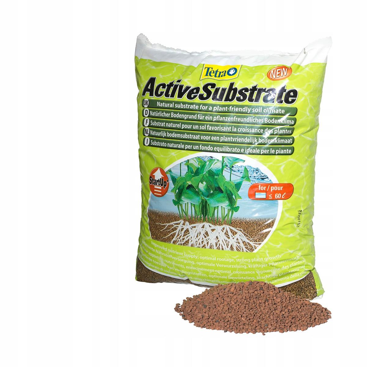 Tetra ActiveSubstrate 6L Substrát pre rastliny,