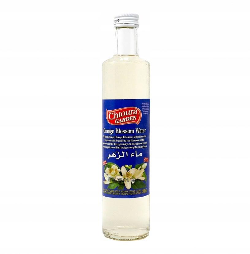 Naturalna woda z kwiatu pomarańczy 500 ml