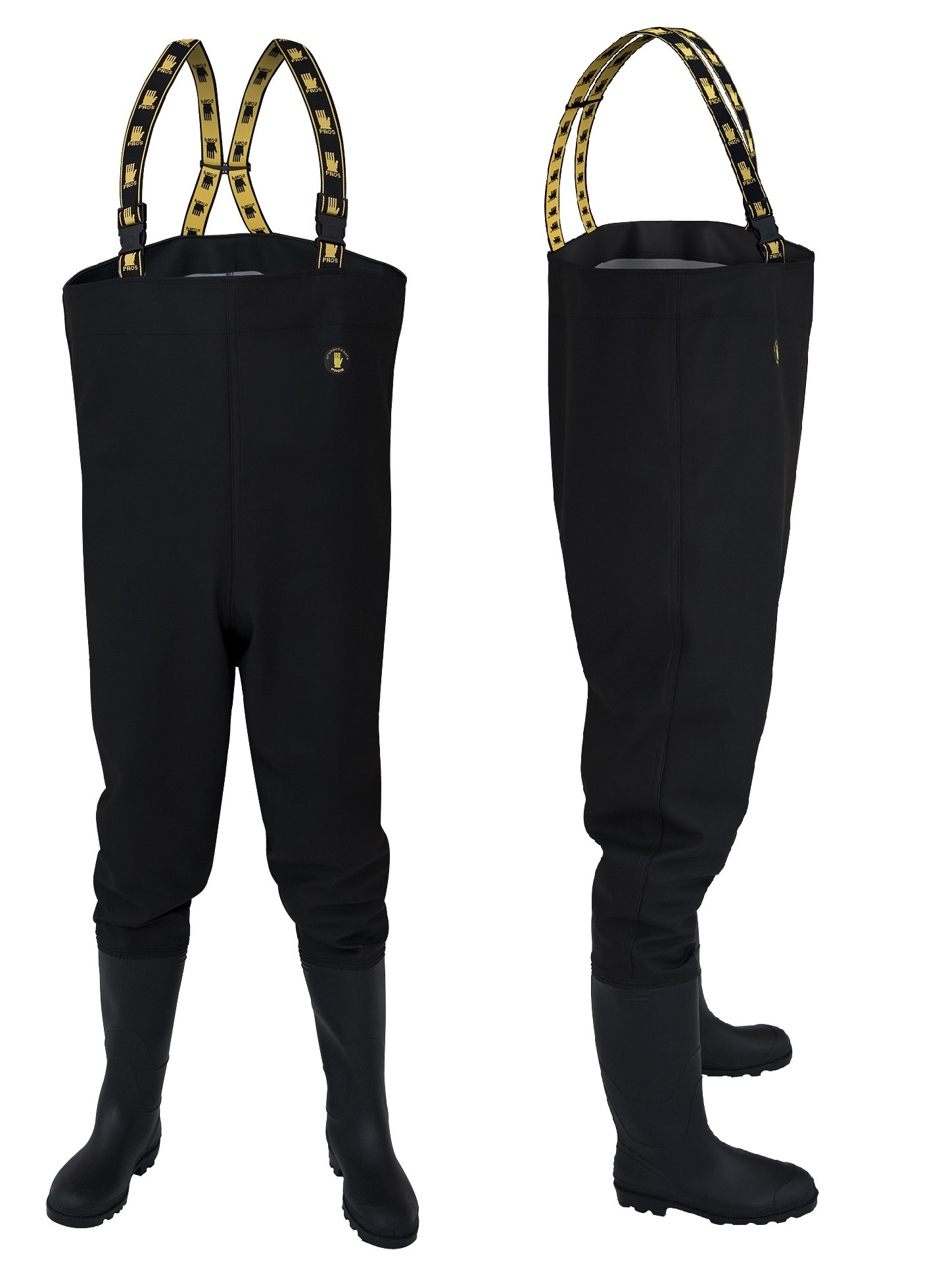 Topánky Marsh Rybolovu Čierne KLADY veľkosť. 43