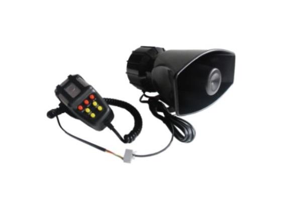 мегафон 100w 12v 7ton охрана полиция звуковой сигнал md240