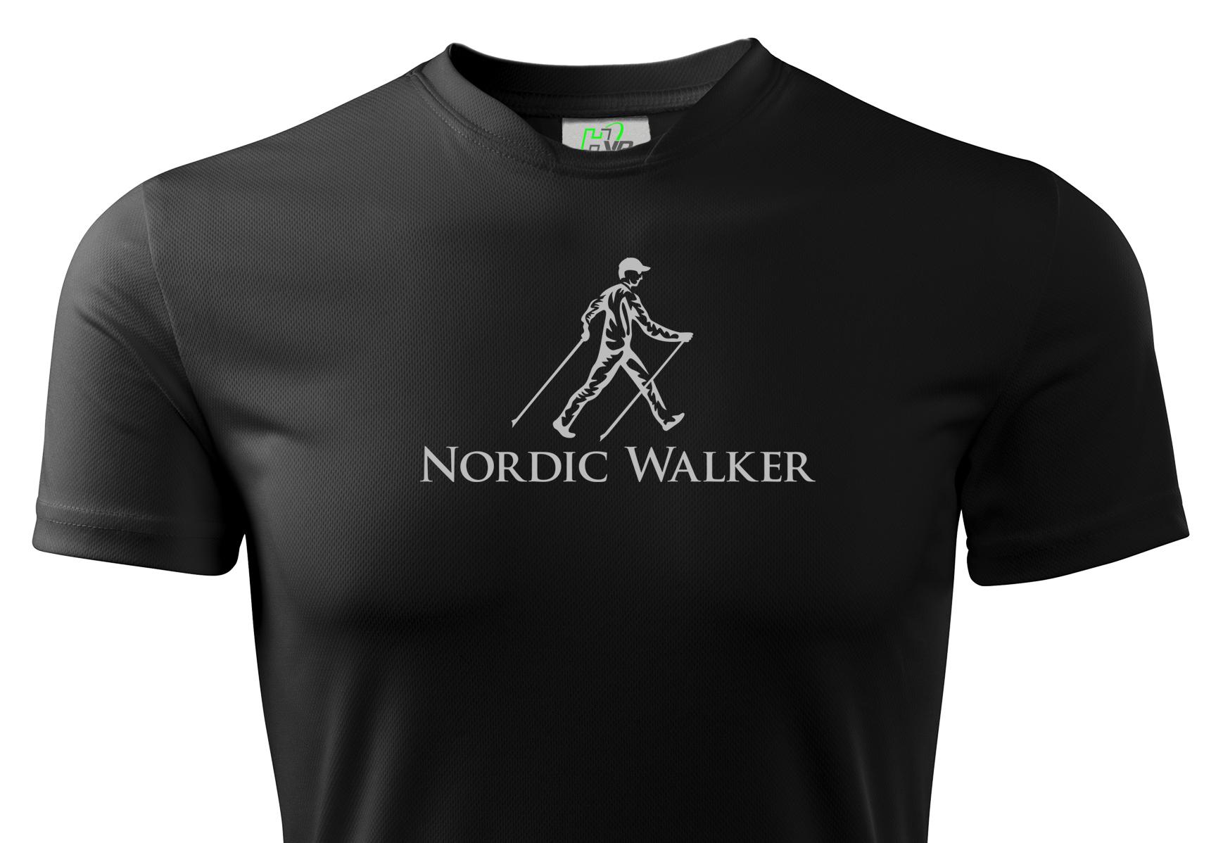 Termálne tričko Nordic Walking Reflexné HVR