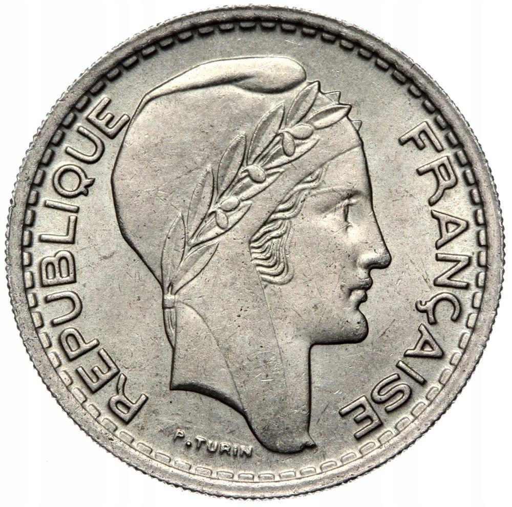 Francúzsko - mince - 10 Franks 1949 - Turín