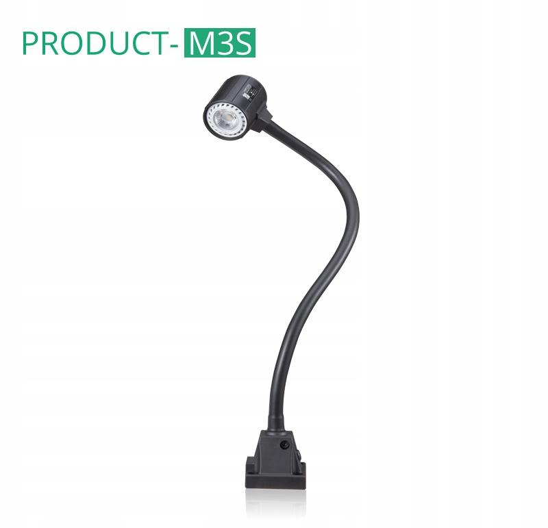 Гибкая светодиодная машинная лампа M3S 4,7W 24V