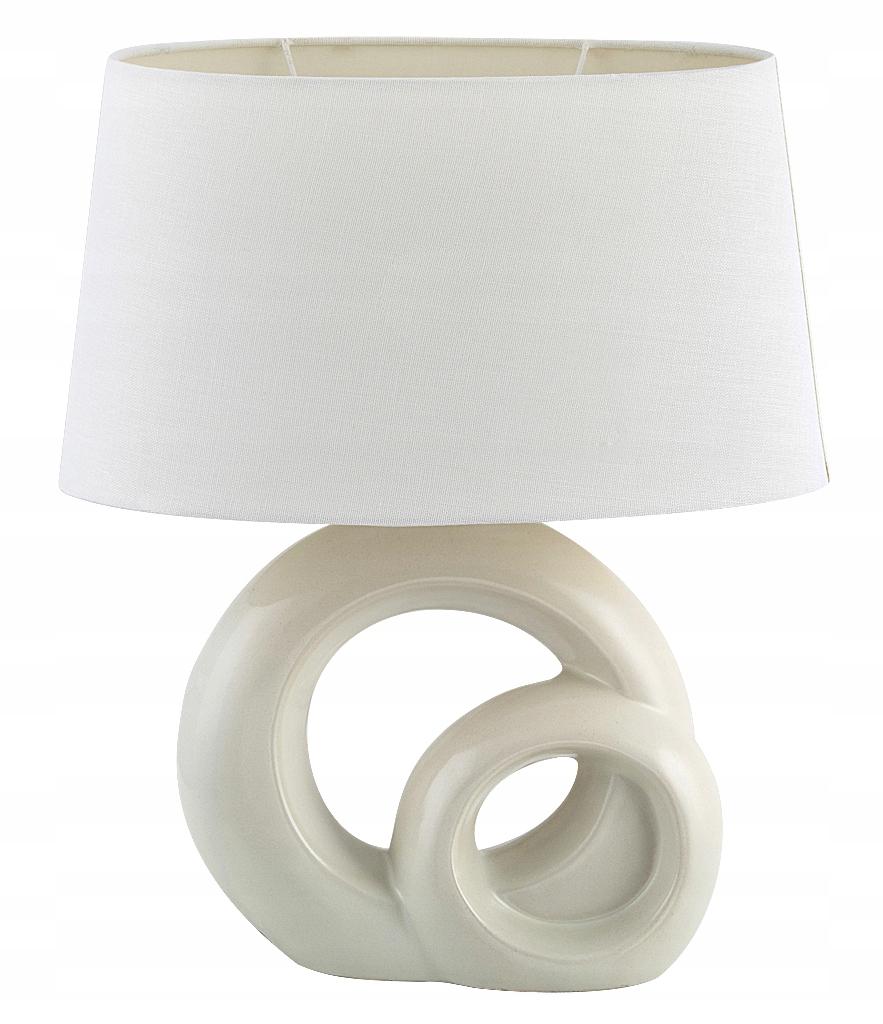 LAMPA STOLNÁ LAMPA NOC MODERNÉ BIELE 004518