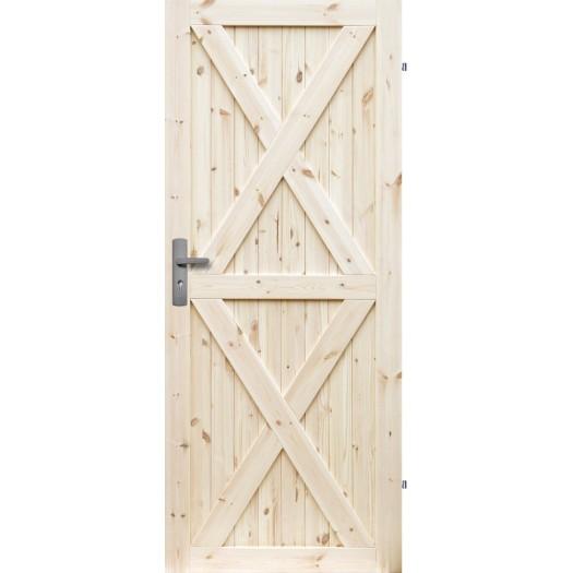 HAPPY borovicové dvere Radex! LOFT XX RETRO JEDNODUCHÉ