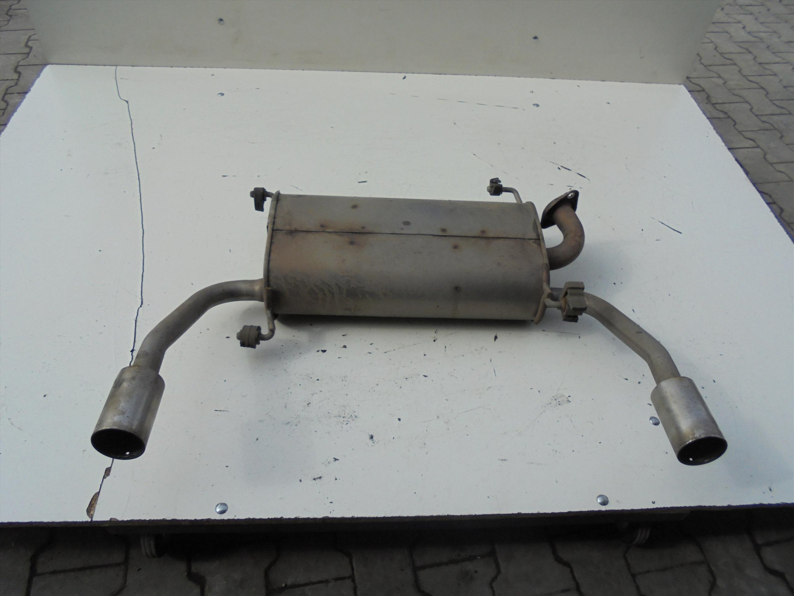 MUFFLER REAR SUZUKI SWIFT MK7 SPORT 1 6 16V