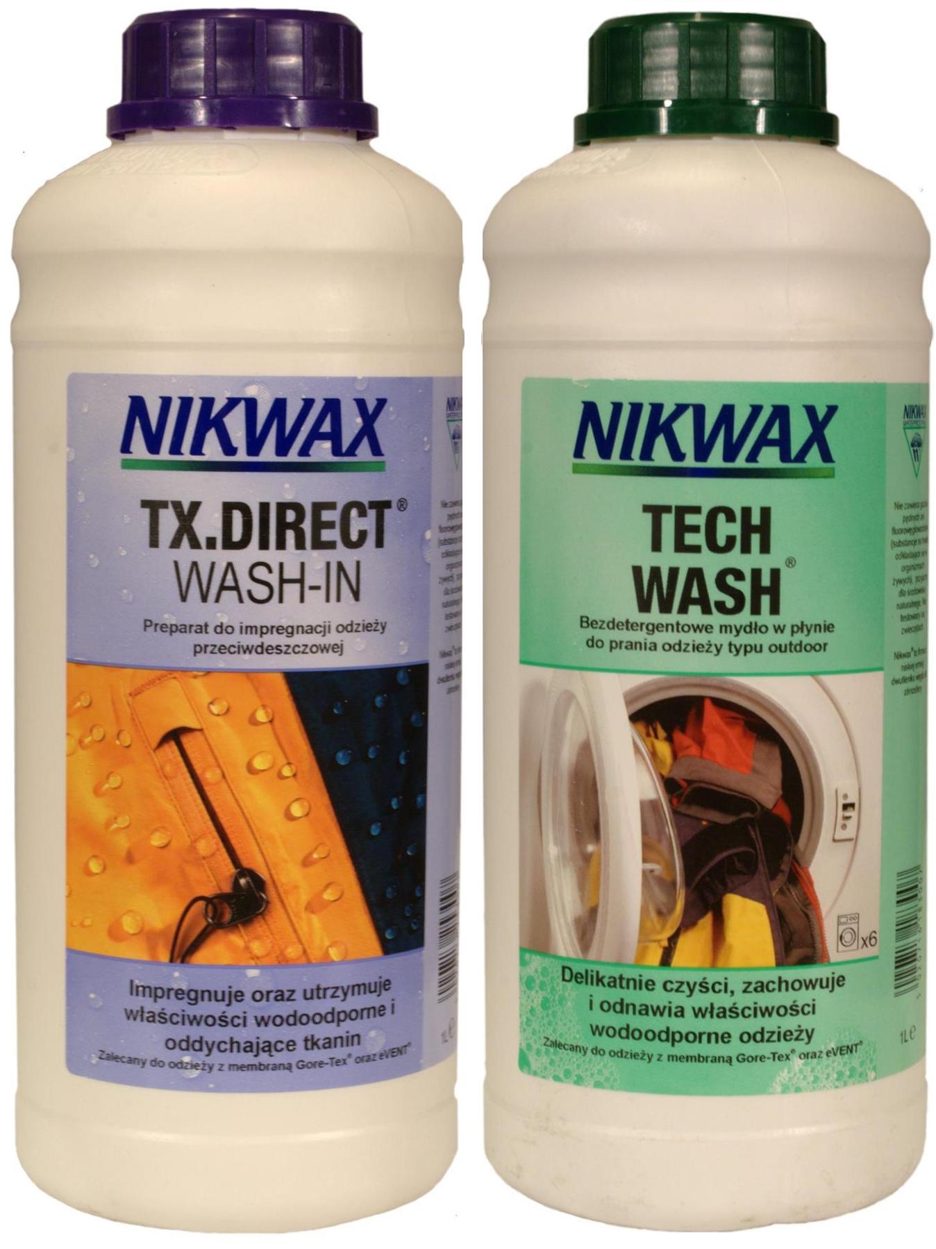 Nastaviť NIKWAX TECH WASH+TX.PRIAME UMÝVANIE-V 2 x 1 L