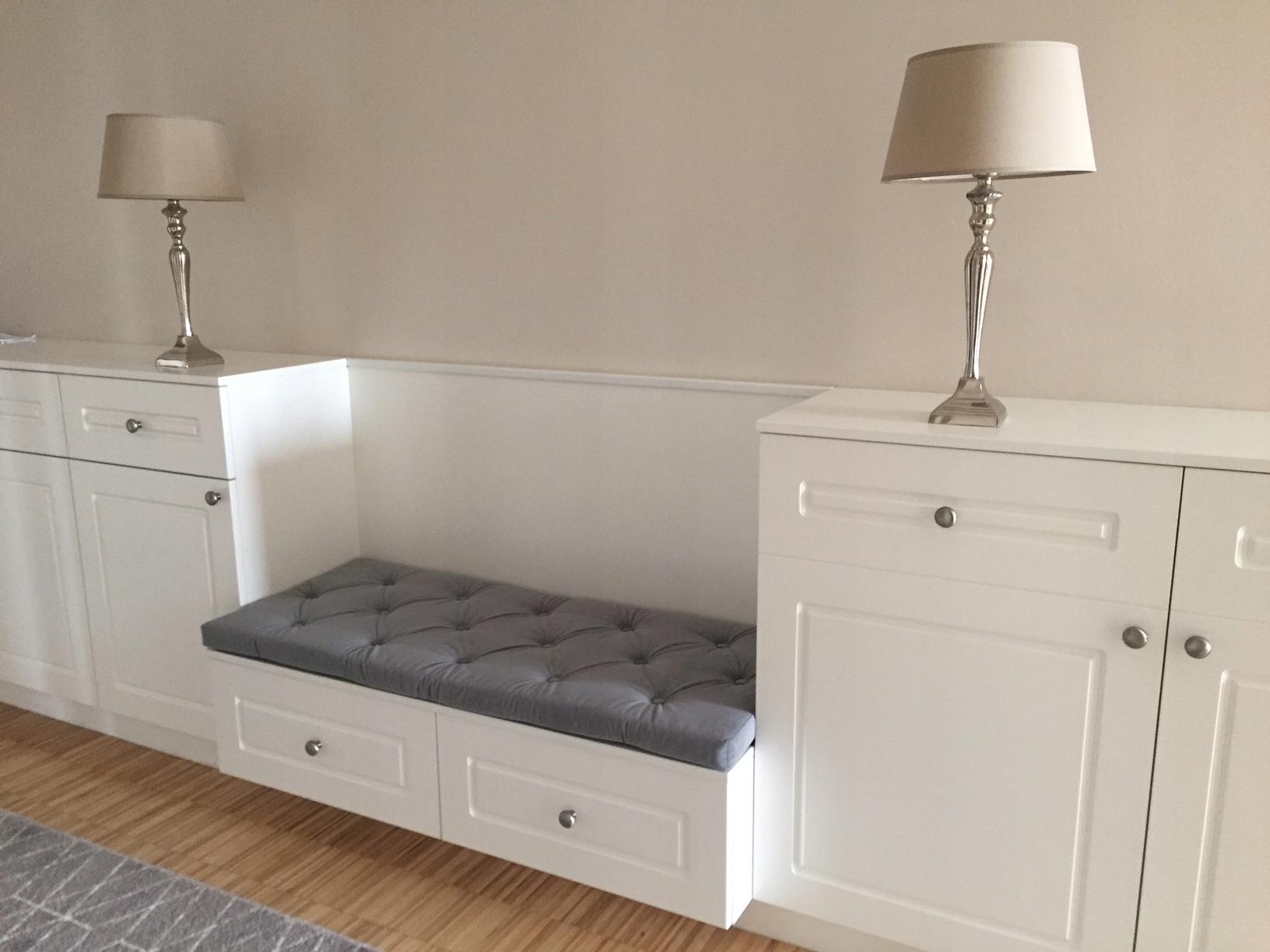 Item seat cushion padding for niche custom