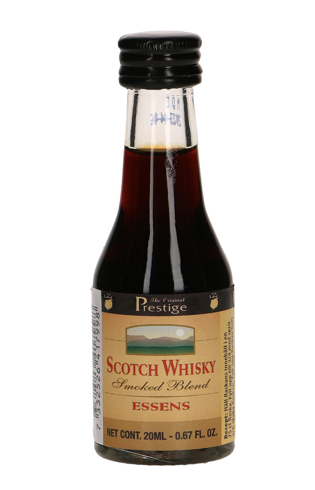 Esencja zaprawka do alkoholu WHISKY SCOTCH SMOKED
