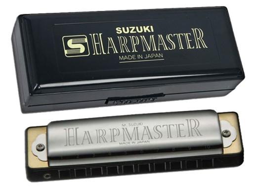 Suzuki Harpmaster MR-200 EB Oral Harmonica EB