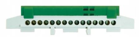 Nulový pás LZ15 Zelená IP20 077234