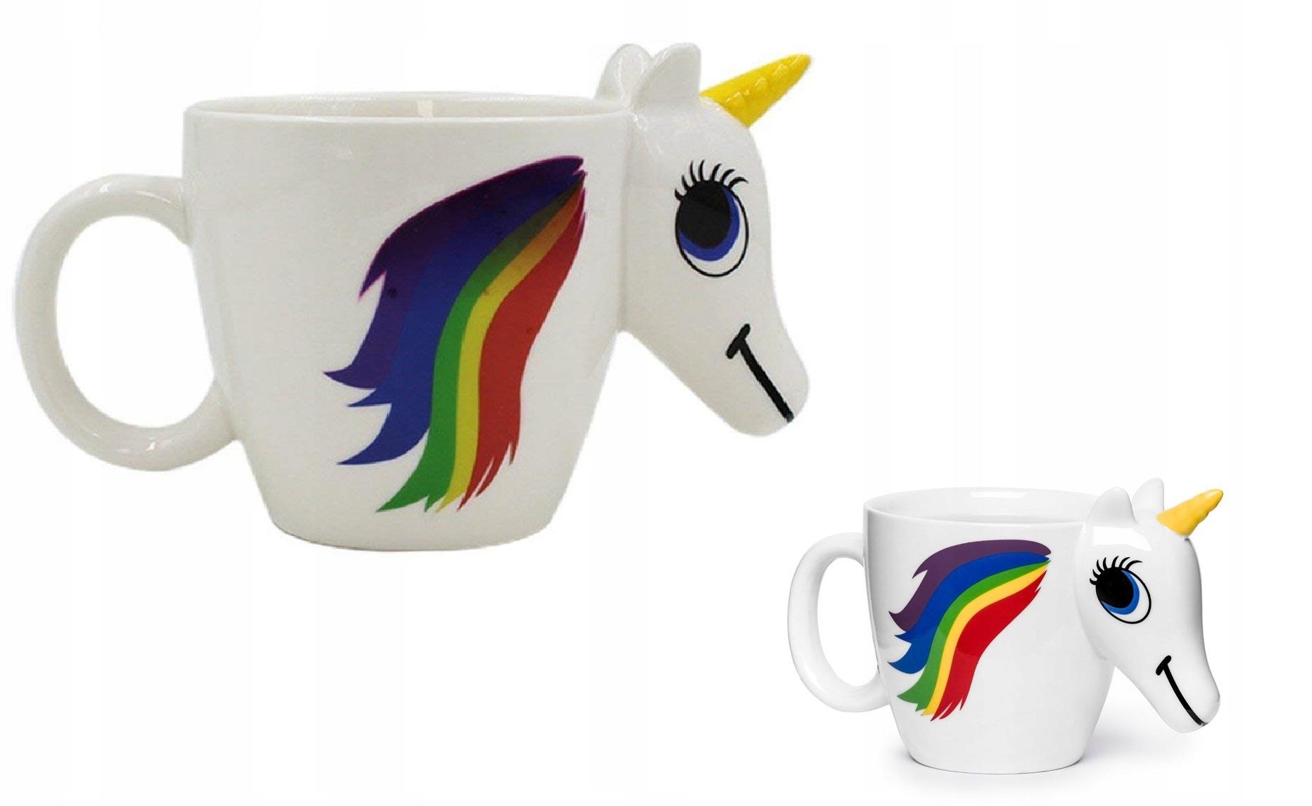 Hrnček Unicorn Magic Zmena čiernej farby
