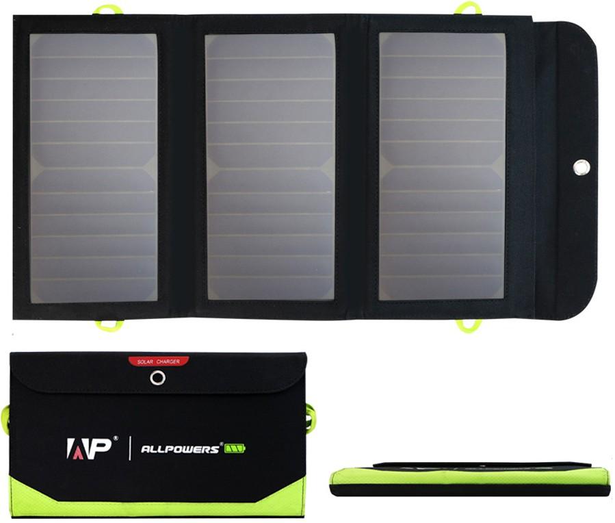 Solárnu nabíjačku USB panel 21W powerbank 8000mAh