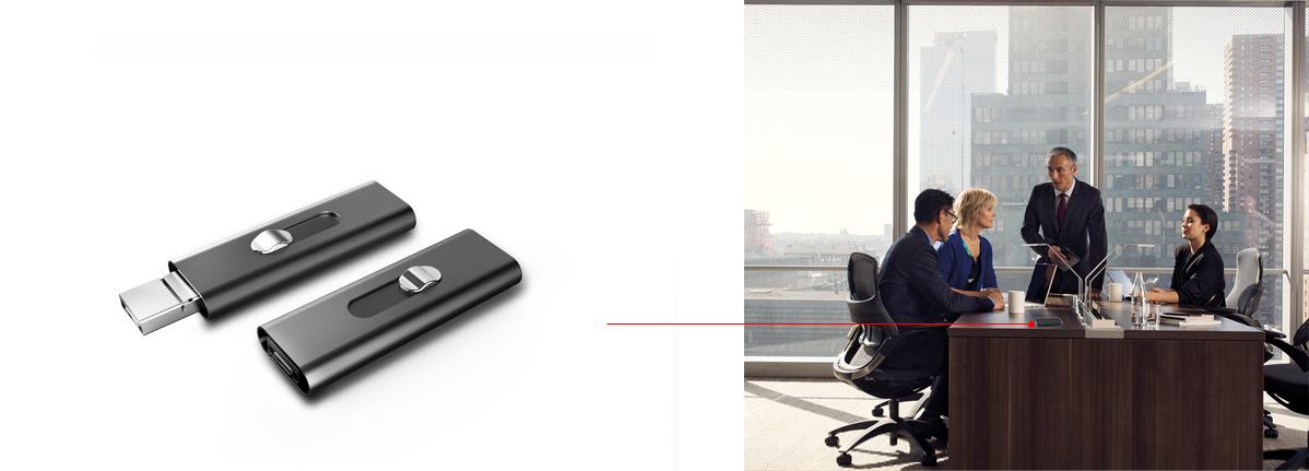 DYKTAFON PROFESJONALNY PODSŁUCH VOX OTG 16GB 15H Wbudowana pamięć 16 GB