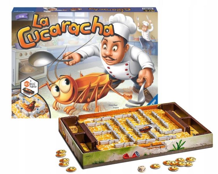 LA CUCARACHA GAME Chyťte švába + zadarmo