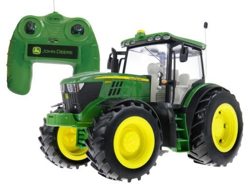 Traktor John Deere pre Bruder s diaľkovým ovládaním